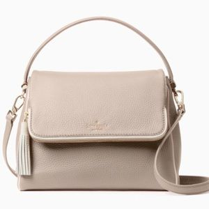 Kate Spade ♠️ NWT Beige And White Bag
